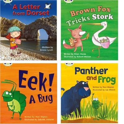 Learn to Read at Home with Phonics Bug: Pack 5 (Pack of 4 reading books with 3 fiction and 1 non-fiction) - pr_17705