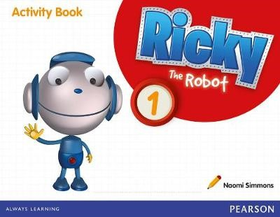 Ricky The Robot 1 Activity Book -