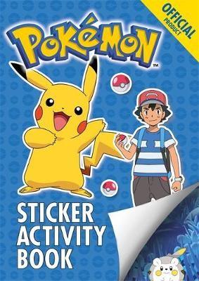 The Official Pokemon Sticker Activity Book - pr_133715