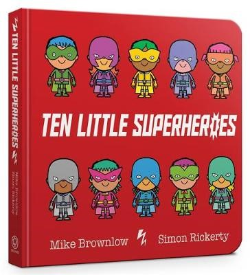Ten Little Superheroes Board Book - pr_133720