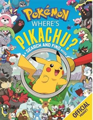 Where's Pikachu? A Search and Find Book -
