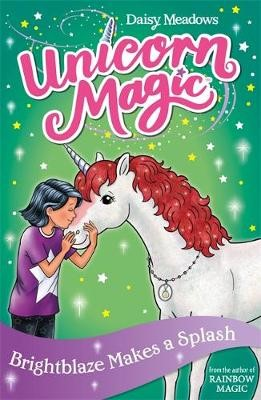 Unicorn Magic: Brightblaze Makes a Splash -