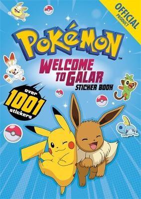 Pokemon Welcome to Galar 1001 Sticker Book - pr_1803255