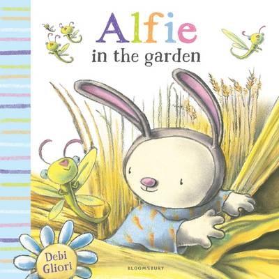 Alfie in the Garden -
