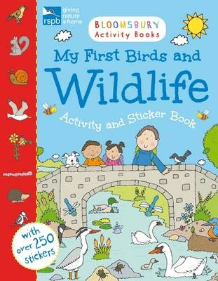 RSPB My First Birds and Wildlife Activity and Sticker Book - pr_362681