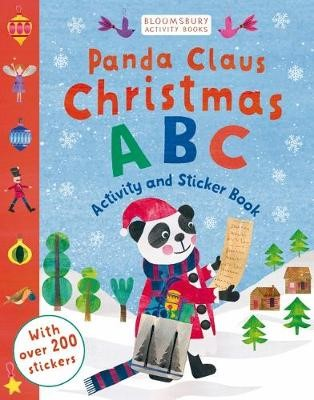 Panda Claus Christmas ABC Activity and Sticker Book -