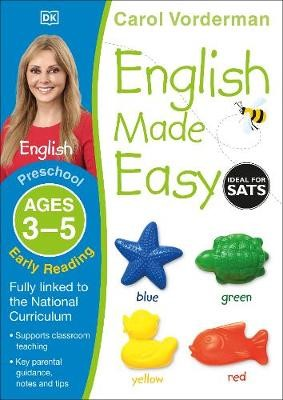 English Made Easy: Early Reading, Ages 3-5 (Preschool) - pr_18807
