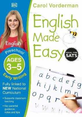 English Made Easy Early Writing Ages 3-5 Preschool -