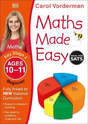 Maths Made Easy Ages 10-11 Key Stage 2 Beginner - pr_18770