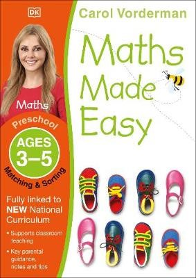 Maths Made Easy: Matching & Sorting, Ages 3-5 (Preschool) - pr_18769