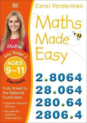 Maths Made Easy Decimals Ages 9-11 Key Stage 2 - pr_18733