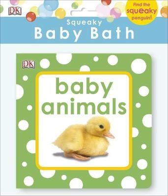 Squeaky Baby Bath Book Baby Animals - pr_324829