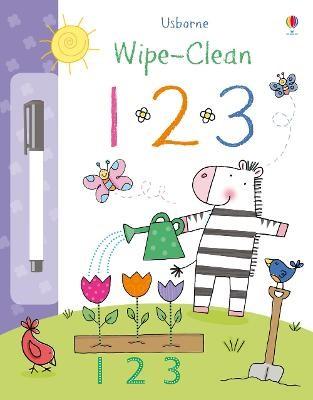 Wipe-clean 123 -