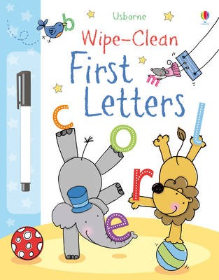 Wipe-Clean First Letters -