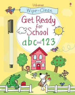 Wipe-clean Get Ready for School abc and 123 -