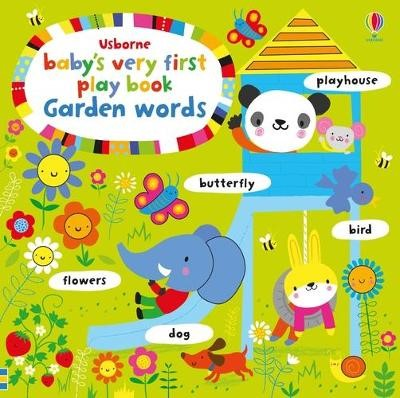 Baby's Very First Playbook Garden Words -