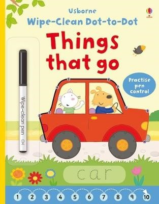 Wipe-clean Dot-to-dot Things that Go -