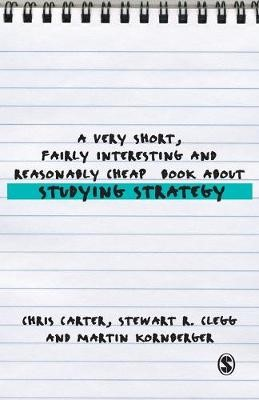 A Very Short, Fairly Interesting and Reasonably Cheap Book About Studying Strategy -