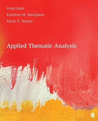 Applied Thematic Analysis -