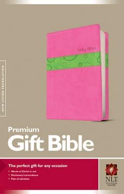NLT Premium Gift Bible, Bubblegum/Pistachio - pr_424714