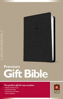 NLT Premium Gift Bible, Black - pr_422892