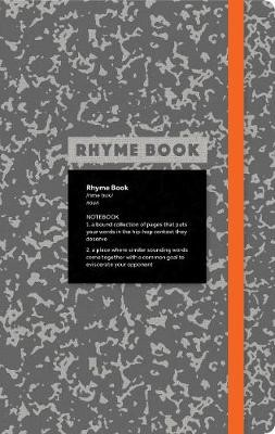 Rhyme Book: A lined notebook with quotes, playlists, and rap stats -