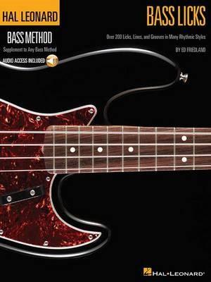 Hal Leonard Bass Method - Bass Licks -