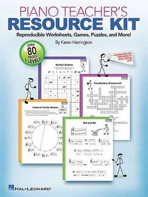 Piano Teacher's Resource Kit -