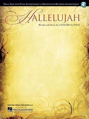 Hallelujah - Vocal Solo/Piano Accompaniment -