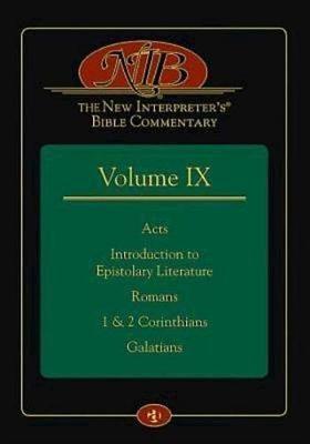 The New Interpreter's(r) Bible Commentary Volume IX - pr_407079