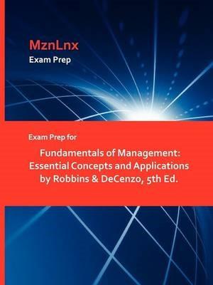Exam Prep for Fundamentals of Management -