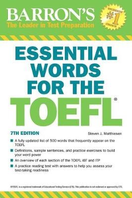 Essential Words for the TOEFL -