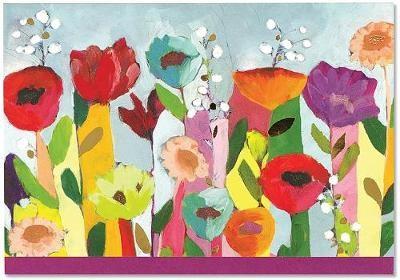 Note Card Brilliant Floral - pr_234155