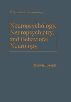 Neuropsychology, Neuropsychiatry, and Behavioral Neurology - pr_36029