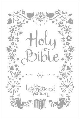 NIV Tiny White Christening Bible - pr_117301