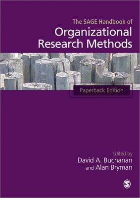 The SAGE Handbook of Organizational Research Methods -