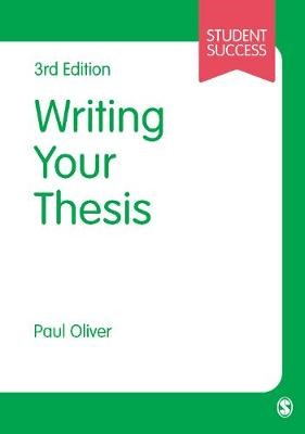 Writing Your Thesis -