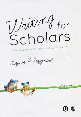 Writing for Scholars -