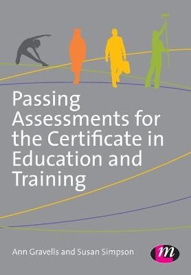 Passing Assessments for the Certificate in Education and Training -