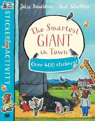 The Smartest Giant in Town Sticker Book - pr_121149