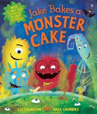 Jake Bakes a Monster Cake -