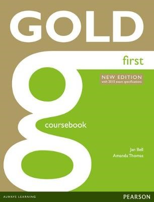 Gold First New Edition Coursebook -