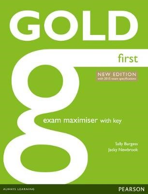 Gold First New Edition Maximiser with Key -