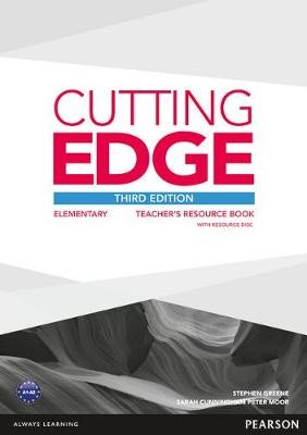 Cutting Edge 3rd Edition Elementary Teacher's Book with Teacher's Resources Disk Pack -