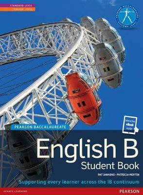 Pearson Baccalaureate English B print and ebook bundle for the IB Diploma -