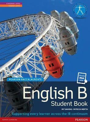 Pearson Baccalaureate English B print and ebook bundle for the IB Diploma - pr_248861
