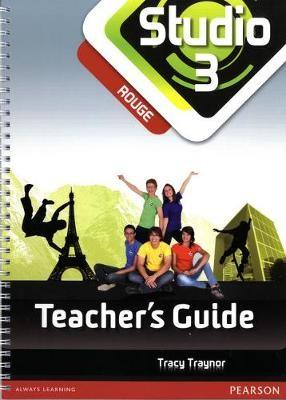 Studio 3 Rouge Teacher Guide New Edition - pr_215858