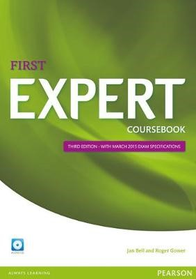 Expert First 3rd Edition Coursebook with CD Pack -