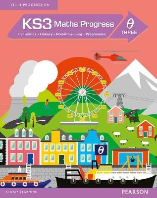 KS3 Maths Progress Student Book Theta 3 - pr_40589