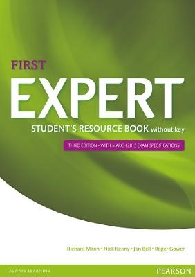 Expert First 3rd Edition Student's Resource Book without Key -